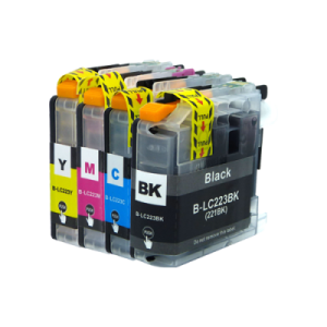 Brother LC 223 Mutipack Ink Cartridges- Compatible