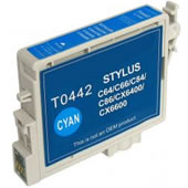 COMPATIBLE Epson T0442 Cyan ink Cartridge Chipped