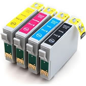 COMPATIBLE EPSON T0556 Mutipack Ink Cartridges Chipped